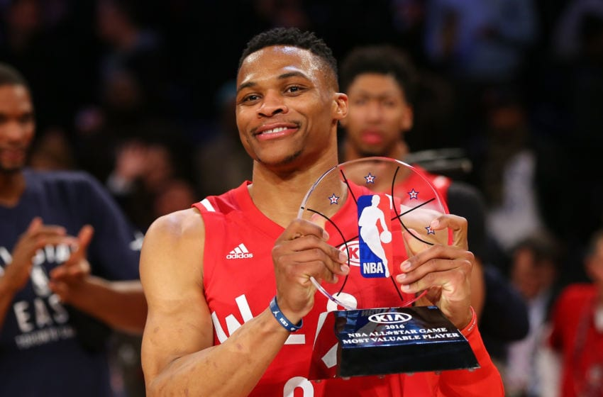 Russell Westbrook (Photo by Elsa/Getty Images)