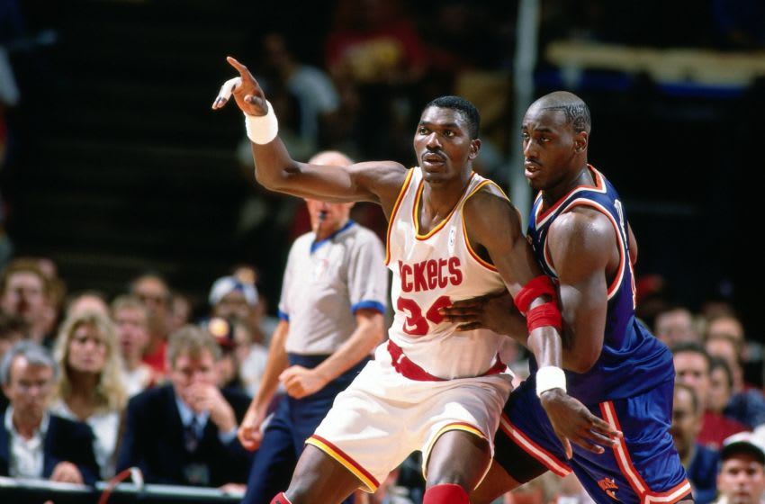 Houston Rockets - Hakeem Olajuwon (Photo by Andrew D. Bernstein/NBAE via Getty Images)