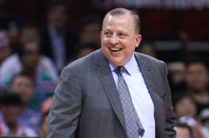Tom Thibodeau (Photo by Zhong Zhi/Getty Images)