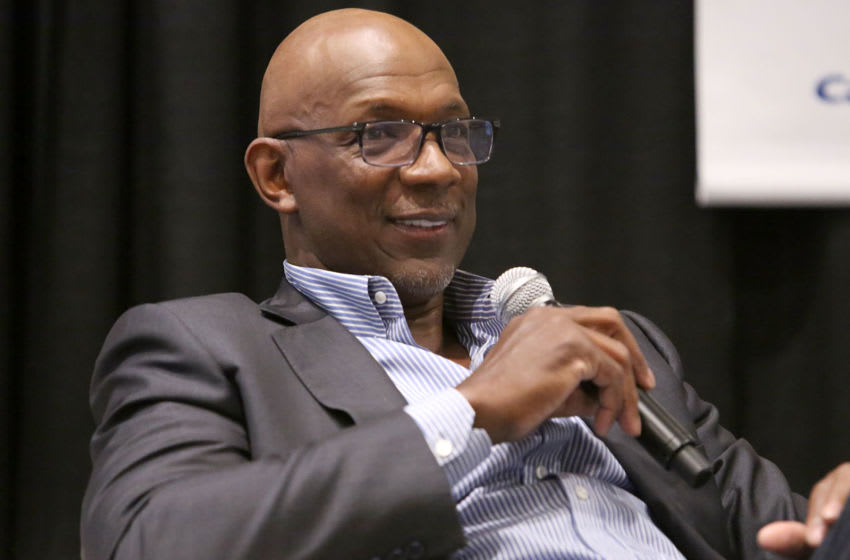 Houston Rockets Clyde Drexler (Photo by Jesse Grant/Getty Images for Cisco Systems, Inc.)