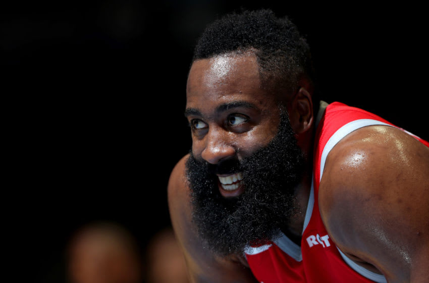James Harden #13 of the Houston Rockets (Photo by Joe Murphy/NBAE via Getty Images)