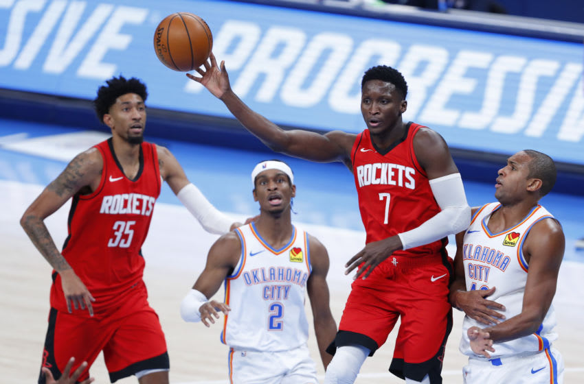 Houston Rockets guard Victor Oladipo (7) Mandatory Credit: Alonzo Adams-USA TODAY Sports