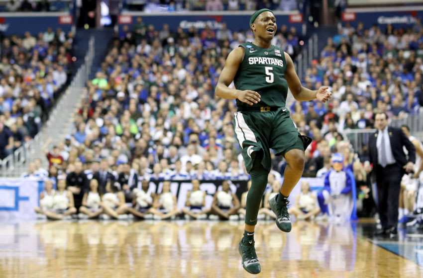 Cassius Winston, Michigan State basketball (Photo by Rob Carr/Getty Images)