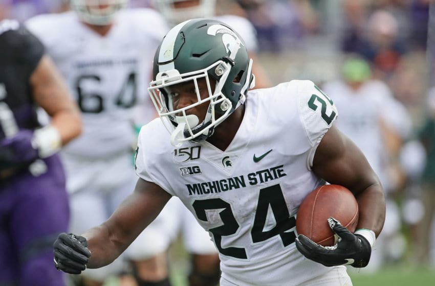 Elijah Collins, Michigan State football (Photo by Jonathan Daniel/Getty Images)