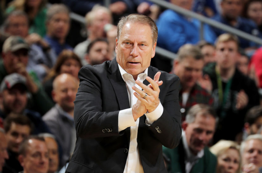 Tom Izzo, Michigan State basketball (Photo by Elsa/Getty Images)