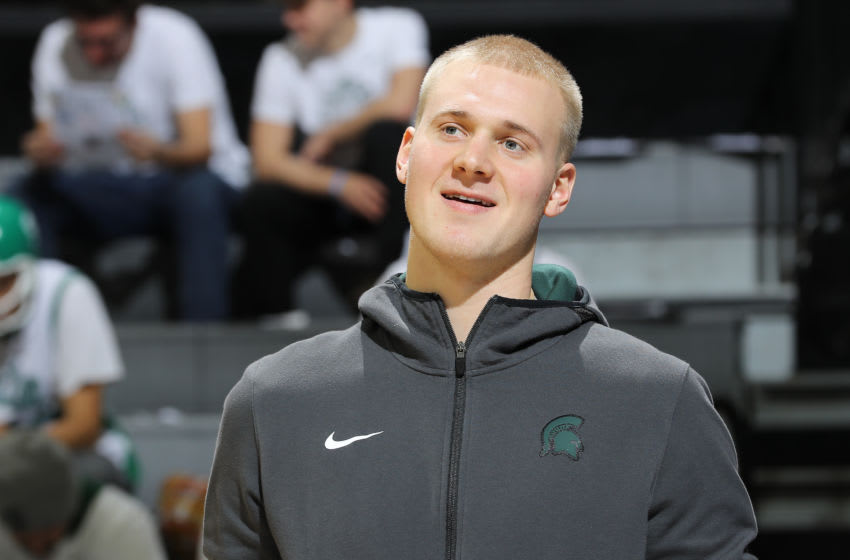 Joey Hauser, Michigan State basketball (Photo by Rey Del Rio/Getty Images)