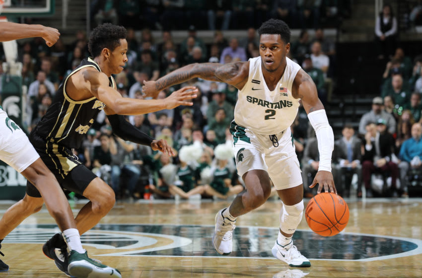 Rocket Watts, Michigan State basketball (Photo by Rey Del Rio/Getty Images)