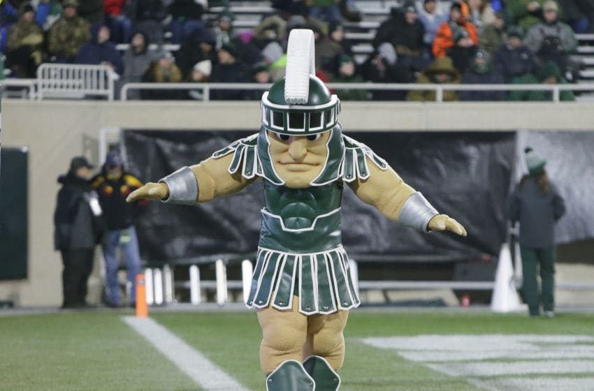 Sparty, Michigan State football (Photo by Duane Burleson/Getty Images)