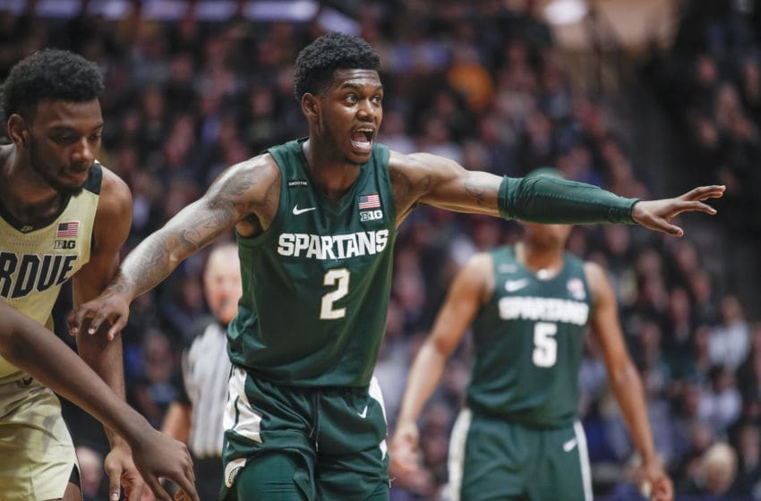 Rocket Watts, Michigan State basketball (Photo by Michael Hickey/Getty Images)