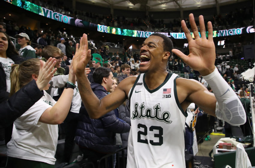 Xavier Tillman, Michigan State basketball (Photo by Gregory Shamus/Getty Images)