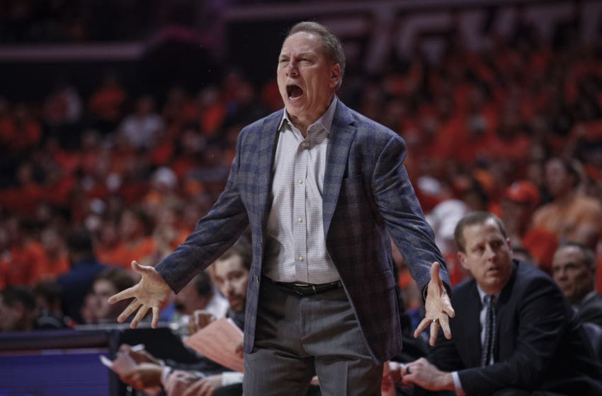 Tom Izzo, Michigan State basketball (Photo by Michael Hickey/Getty Images)