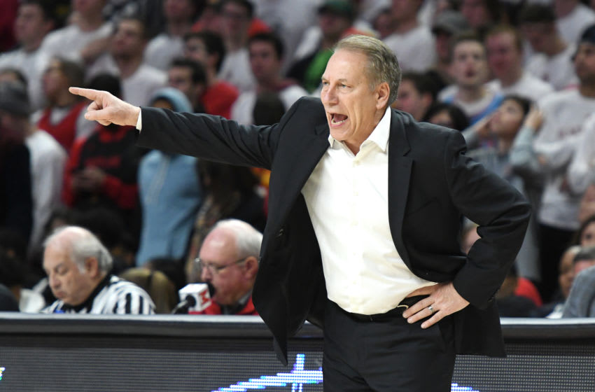 Tom Izzo, Michigan State basketball (Photo by Mitchell Layton/Getty Images)