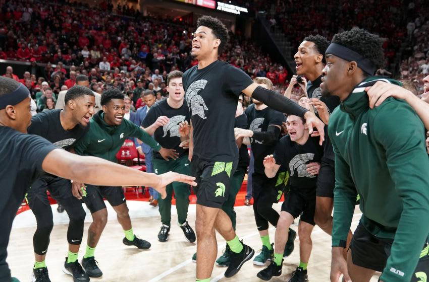 Malik Hall, Michigan State basketball (Photo by Mitchell Layton/Getty Images)