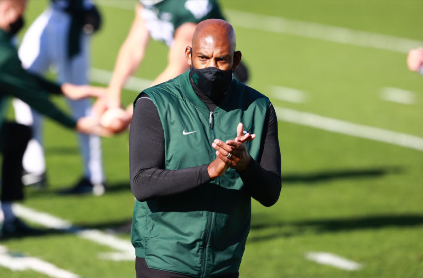 Mel Tucker, Michigan State football (Photo by Rey Del Rio/Getty Images)