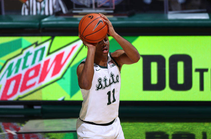 AJ Hoggard, Michigan State basketball (Photo by Rey Del Rio/Getty Images)