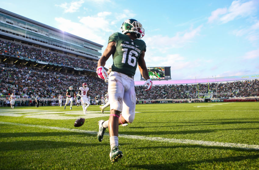 Aaron Burbridge, Michigan State football (Photo by Rey Del Rio/Getty Images)
