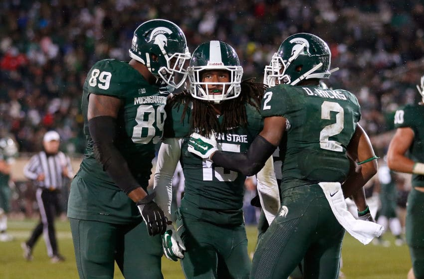 EAST LANSING, MI - OCTOBER 04: Trae Waynes