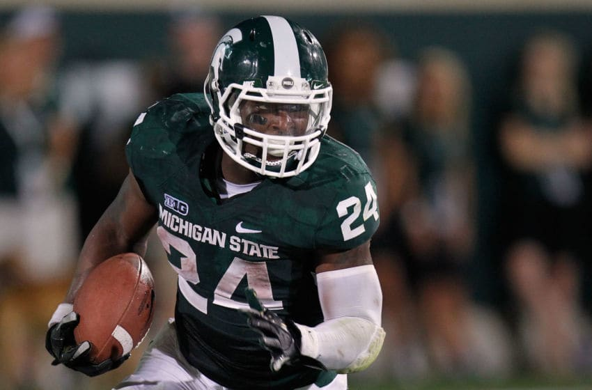 Le'Veon Bell, Michigan State Spartans. (Photo by Gregory Shamus/Getty Images)