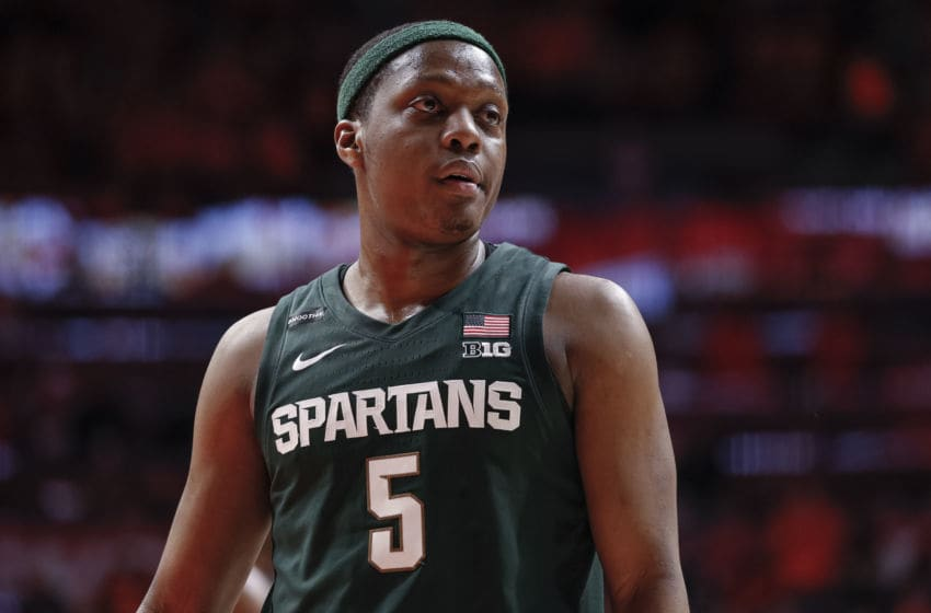 Cassius Winston, Michigan State basketball (Photo by Michael Hickey/Getty Images)