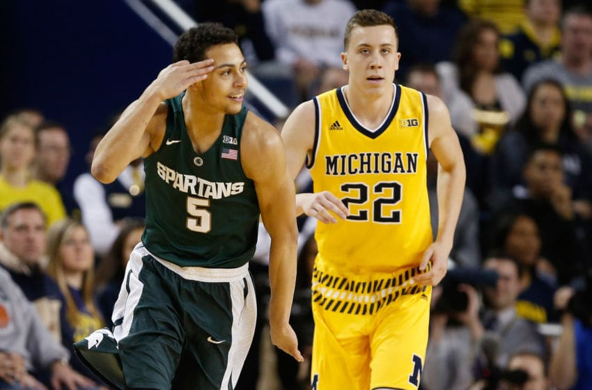 Bryn Forbes, Michigan State basketball (Photo by Gregory Shamus/Getty Images)