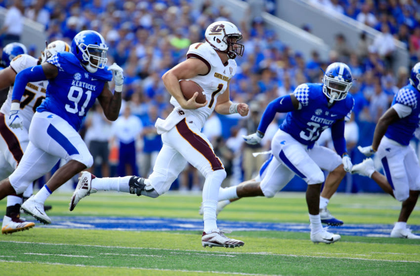 Tony Poljan, Central Michigan football (Photo by Andy Lyons/Getty Images)