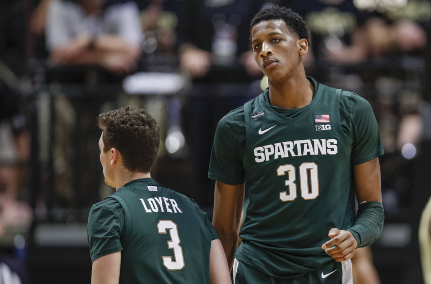 Marcus Bingham Jr., Michigan State basketball (Photo by Michael Hickey/Getty Images)
