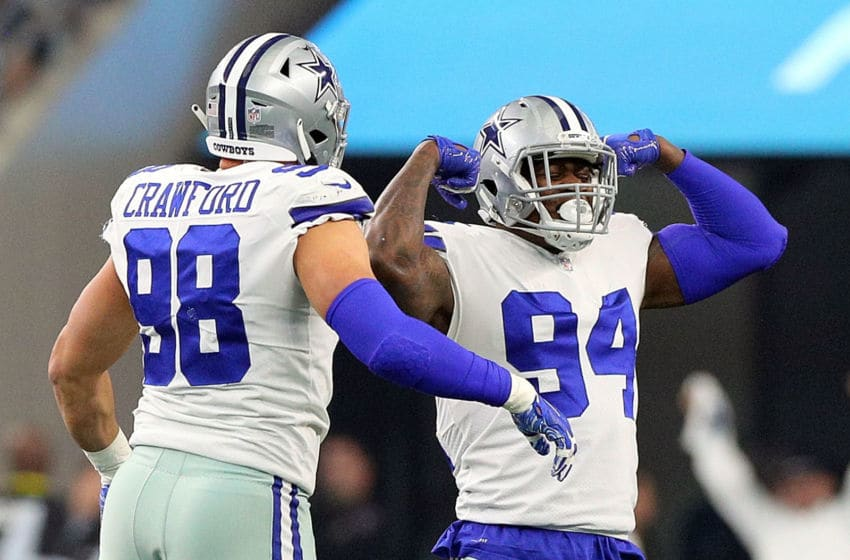Tyrone Crawford #98 of the Dallas Cowboys and Randy Gregory #94 of the Dallas Cowboys (Photo by Richard Rodriguez/Getty Images)