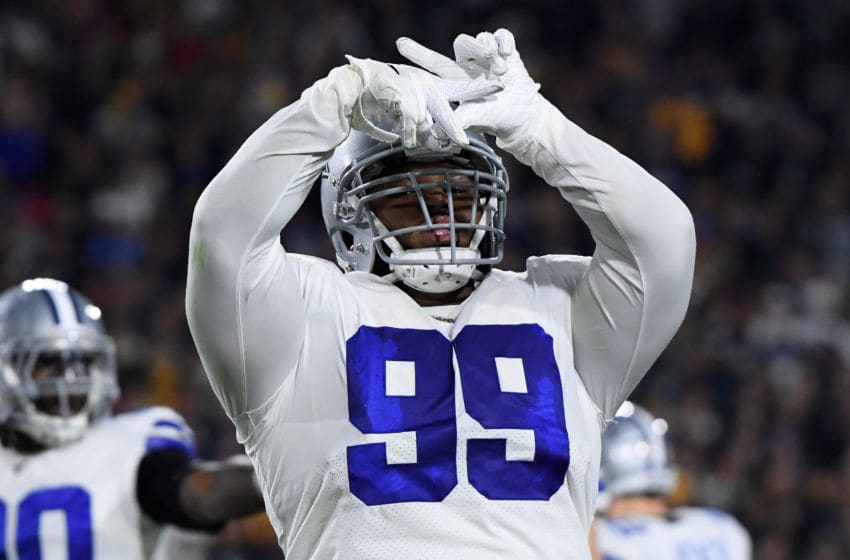 Antwaun Woods #99 of the Dallas Cowboys (Photo by Harry How/Getty Images)