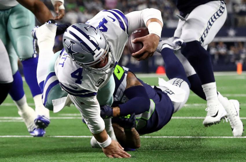 Dak Prescott #4 of the Dallas Cowboys (Photo by Ronald Martinez/Getty Images)