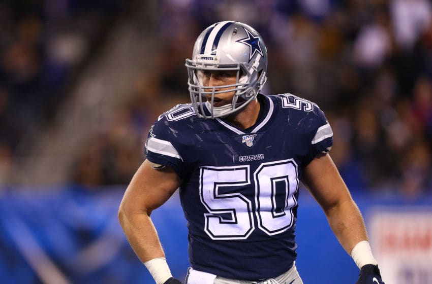 Sean Lee #50 of the Dallas Cowboys (Photo by Mike Stobe/Getty Images)