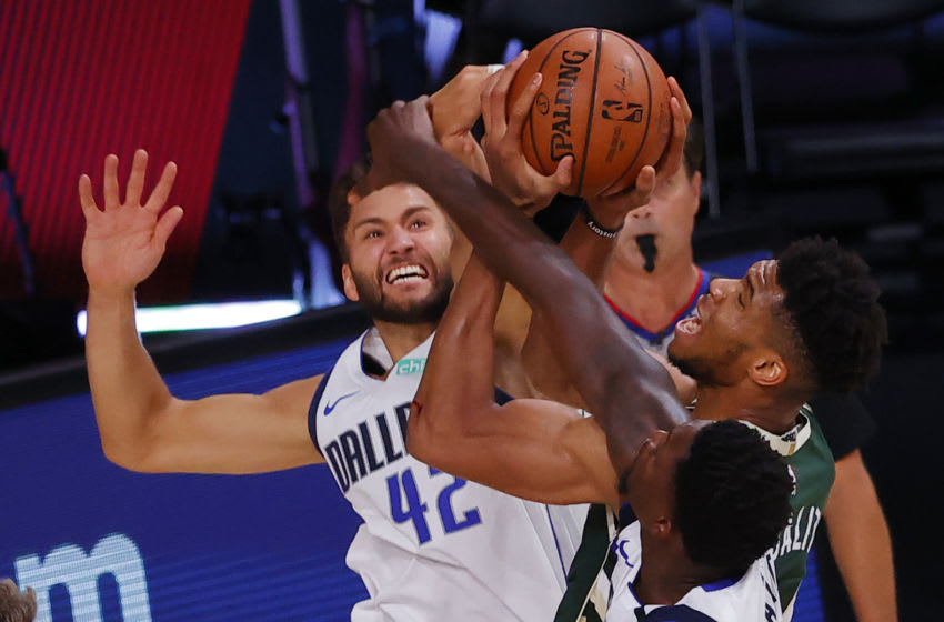 Maxi Kleber #42 of the Dallas Mavericks (Photo by Kevin C. Cox/Getty Images)