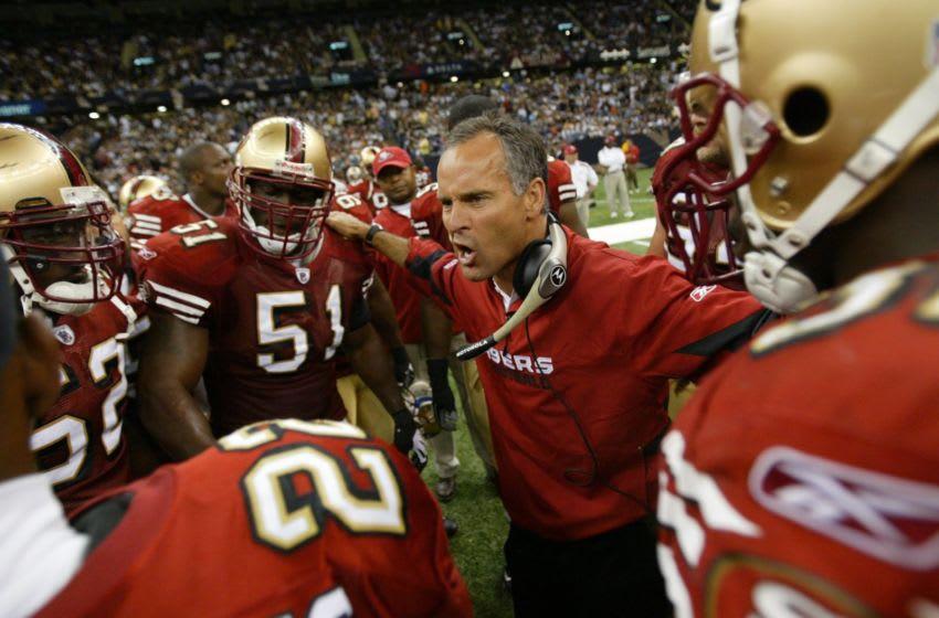 Head coach Mike Nolan (Photo by Michael Zagaris/Getty Images)