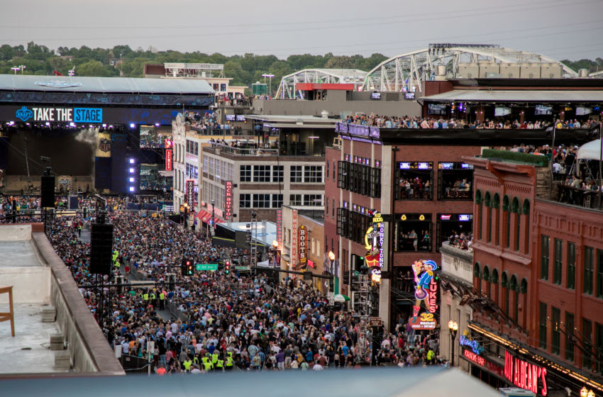 NASHVILLE, TN - APRIL 27: General atmosphere at the St. Jude Rock 'n' Roll Marathon and ½ Marathon and the 2019 NFL Draft Experience on April 27, 2019 in Nashville, Tennessee. (Photo by Danielle Del Valle/Getty Images)