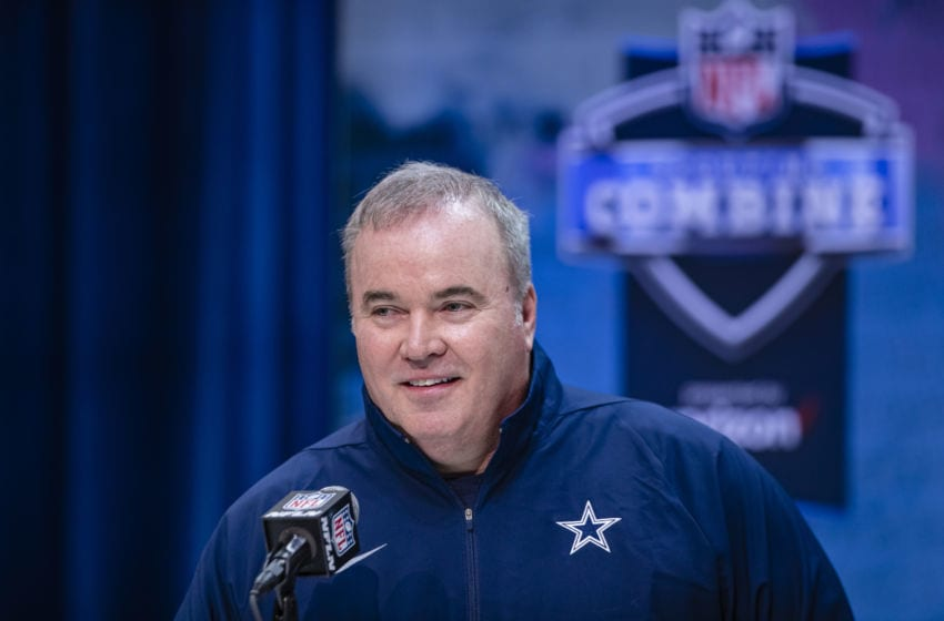 Head coach Mike McCarthy of the Dallas cowboys (Photo by Michael Hickey/Getty Images)