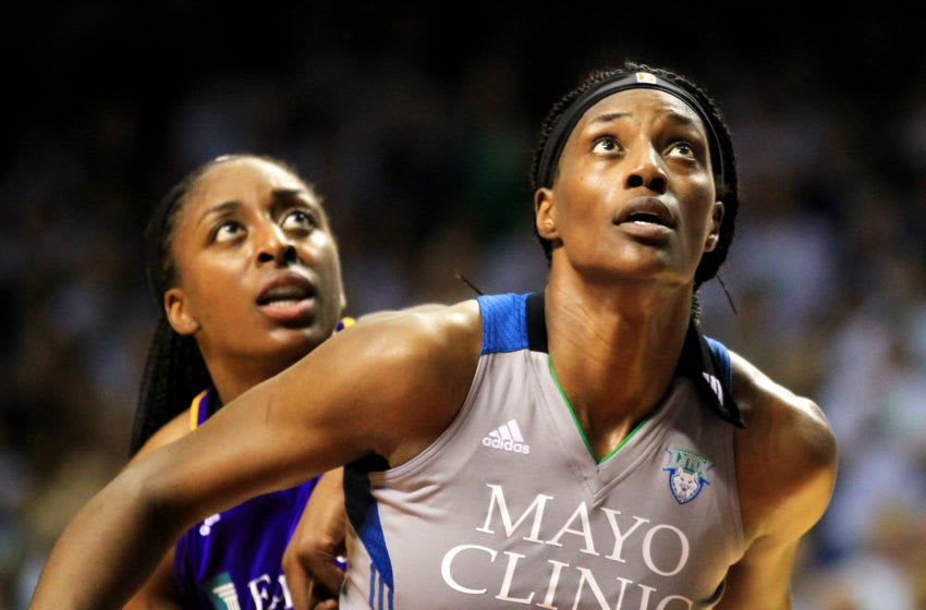MINNEAPOLIS, MN - SEPTEMBER 24: Sylvia Fowles (Photo by Andy King/Getty Images)