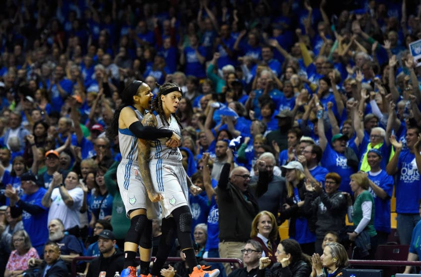 MINNEAPOLIS, MN - SEPTEMBER 26: Maya Moore (Photo by Hannah Foslien/Getty Images)
