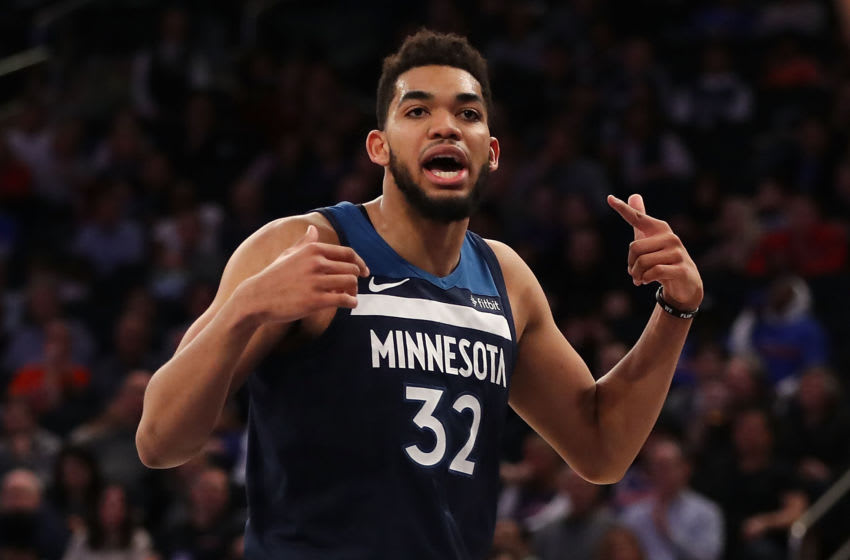 NEW YORK, NY - MARCH 23: Karl-Anthony Towns