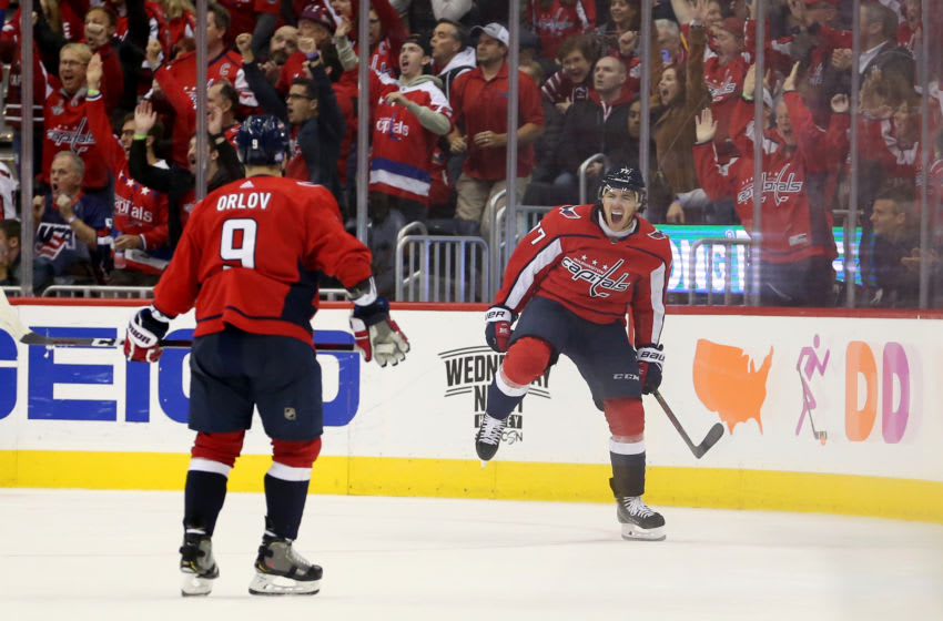 T.J. Oshie, Washington Capitals (Photo by Will Newton/Getty Images)
