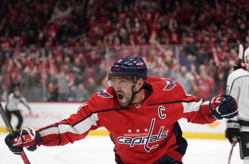 Alex Ovechkin, Washington Capitals (Photo by Patrick McDermott/NHLI via Getty Images)