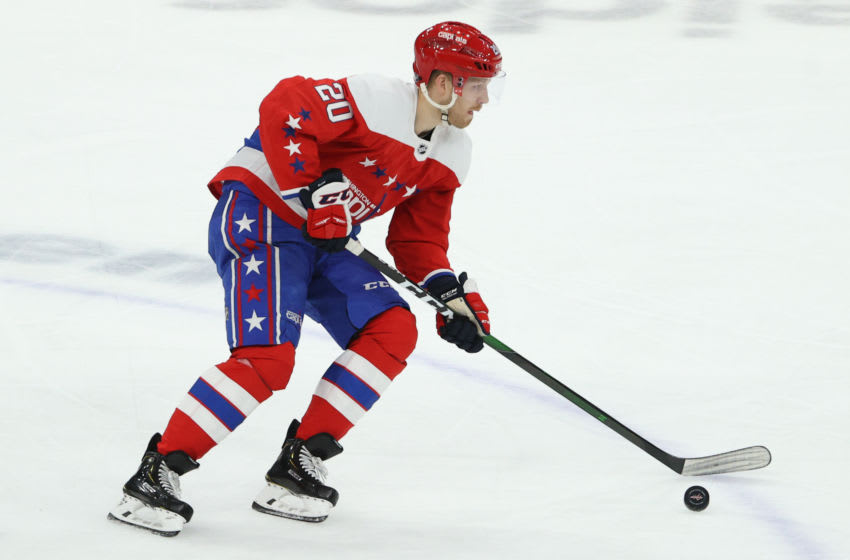Lars Eller, Washington Capitals (Photo by Patrick Smith/Getty Images)