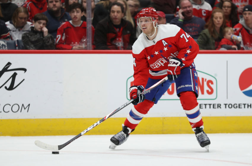 John Carlson, Washington Capitals (Photo by Patrick Smith/Getty Images)