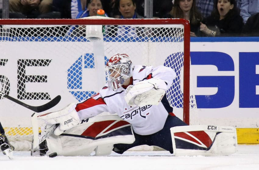 Ilya Samsonov, Washington Capitals (Photo by Bruce Bennett/Getty Images)