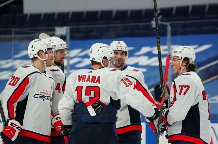 Jakub Vrana, Washington Capitals (Photo by Kevin Hoffman/Getty Images)