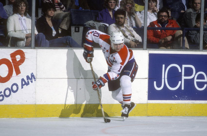Bobby Carpenter, Washington Capitals (Photo by Focus on Sport/Getty Images)