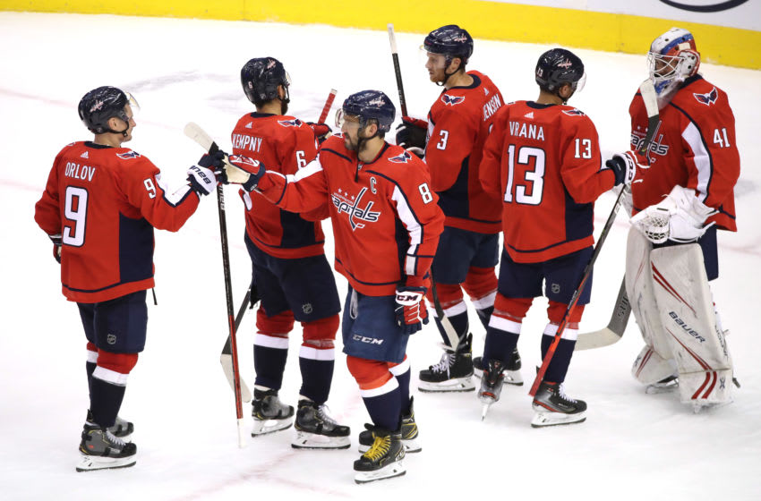 Washington Capitals (Photo by Andre Ringuette/Freestyle Photo/Getty Images)