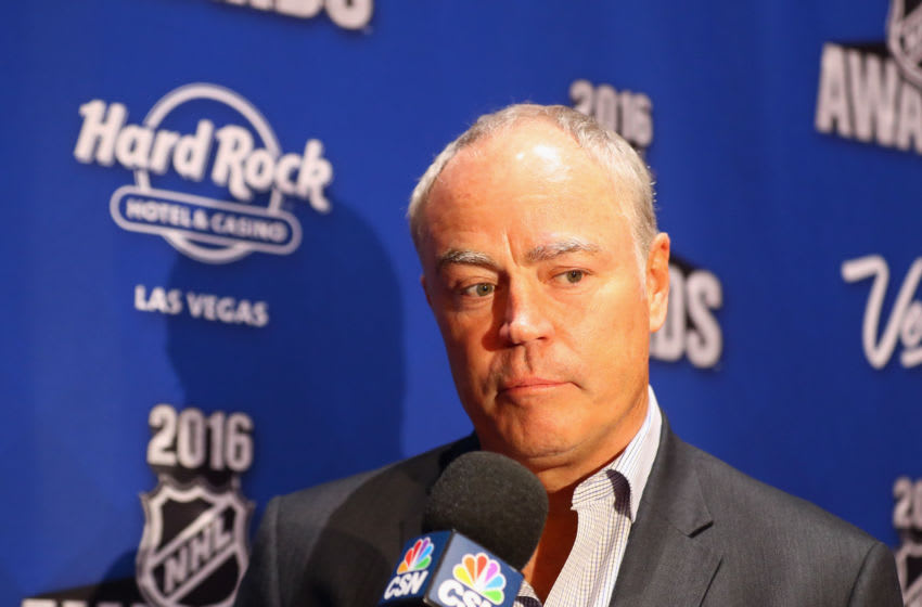 Brian MacLellan, Washington Capitals (Photo by Bruce Bennett/Getty Images)