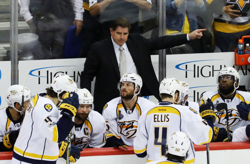 Peter Laviolette (Photo by Bruce Bennett/Getty Images)