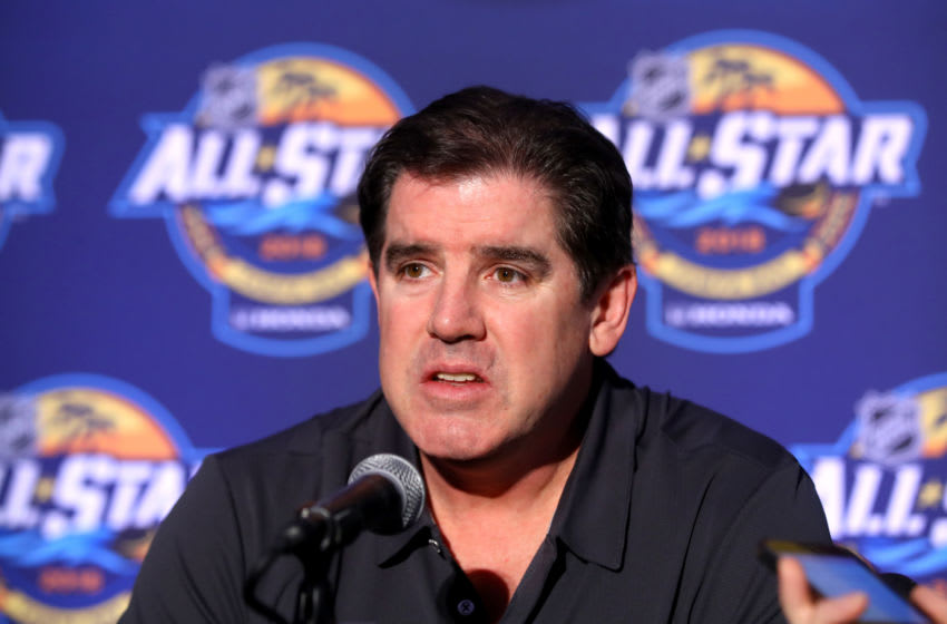 Peter Laviolette, Washington Capitals (Photo by Bruce Bennett/Getty Images)