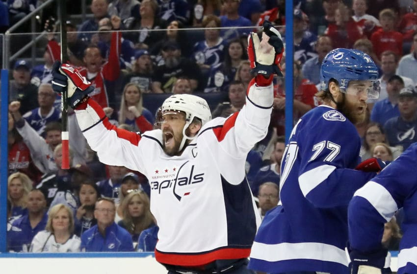 Alex Ovechkin, Washington Capitals (Photo by Bruce Bennett/Getty Images)