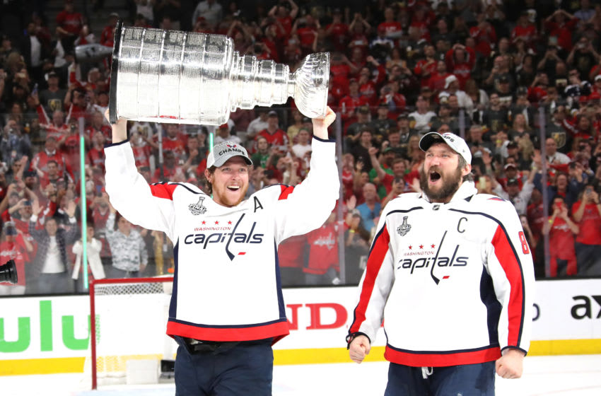 Alex Ovechkin, Nicklas Backstrom, Washington Capitals (Photo by Bruce Bennett/Getty Images)